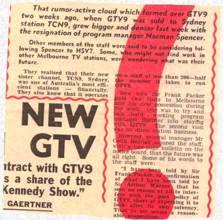 Listener In-TV, July 1960 | What Next? ... GTV 9 sold to TCN 9 ...