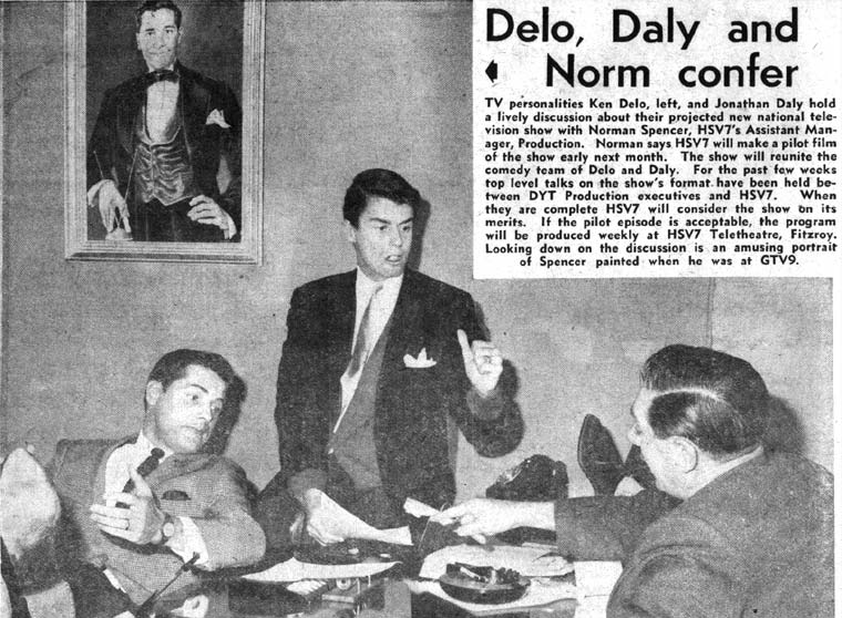 Listener In-TV, 7 June 1963 | Ken Delo & Jonathan Daly hold a lively discussion