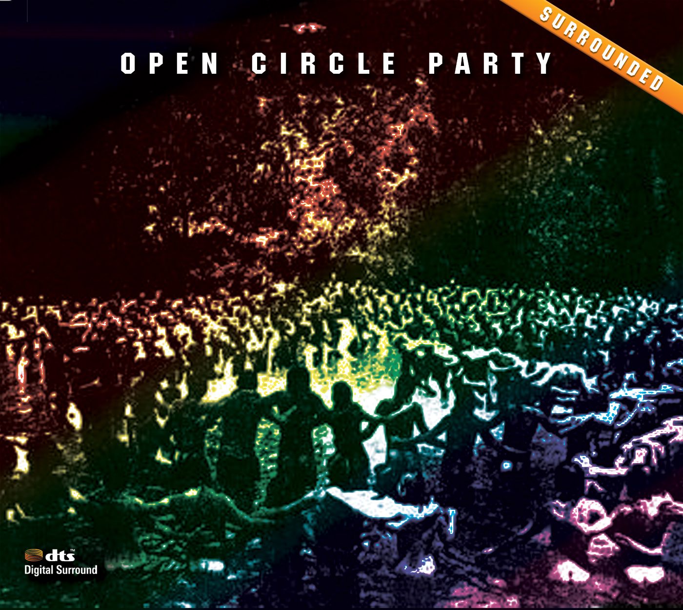 Open Circle Party: Surrounded - DTS CD Cover
